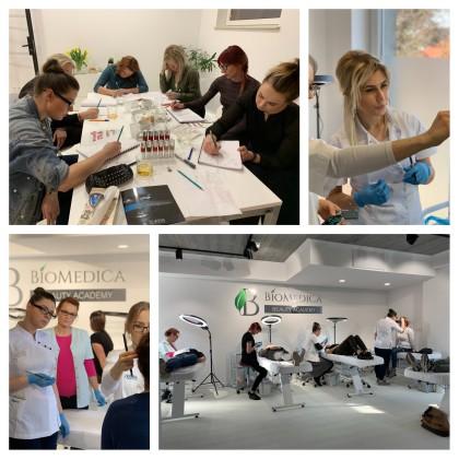 Biomedica Szkolenia grupowe makijaż permanentny szkolenia PMU dofinansowane z UE