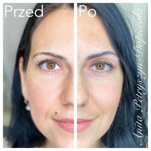 Makijaż permanentny brwi dla brunetki