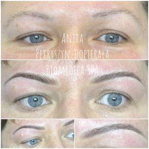 Permanentny brwi Zielona Góra Soft eyebrows