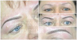 Naturalne brwi delikatne SOFT permanent makeup