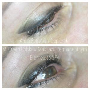 Kreski cieniowane makijaż permanentny Zielona Góra #permanentny