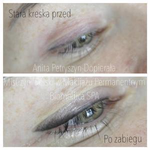 Kreski cieniowane makijaż permanentny Zielona Góra #permanentny #zielonagora #swiebodzin
