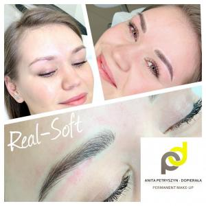 makijaz permanentny brwi naturalne