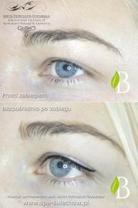 makijaz permanentny kreski